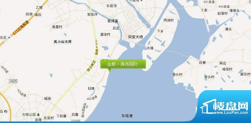 金都海尚国际交通图
