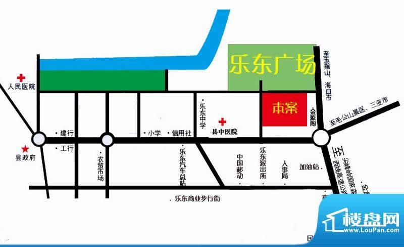 公园壹号交通图