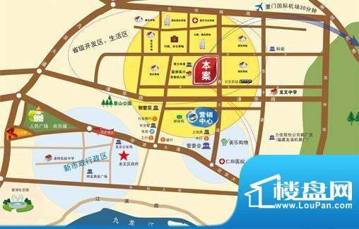 蓝湾国际交通图