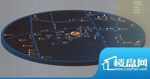 领地海纳天河花园交通图