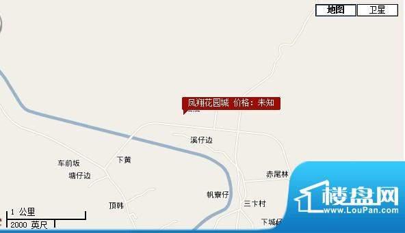 凤翔花园城交通图