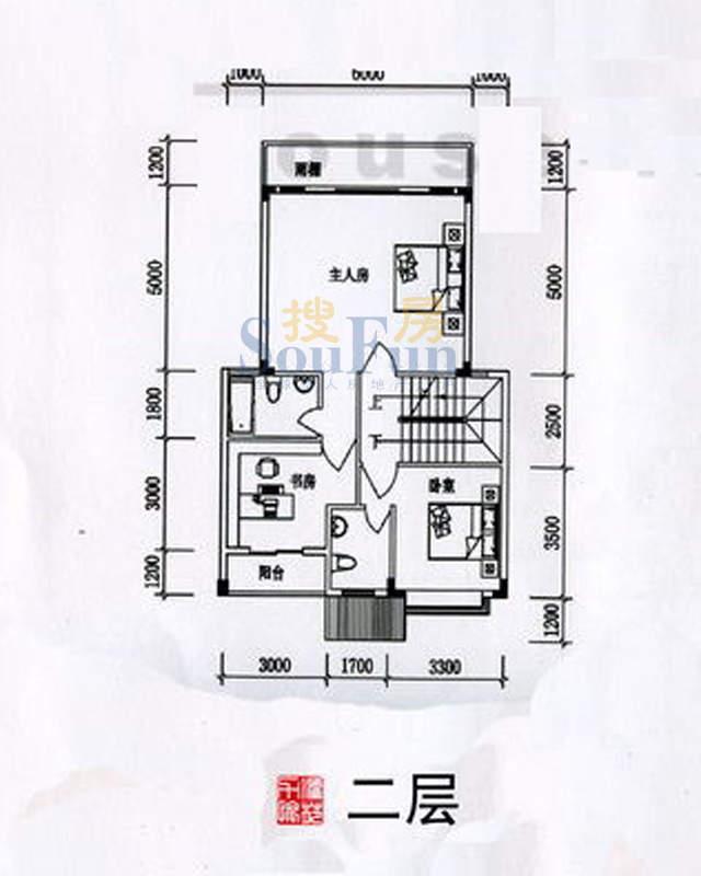 力源愉苑联排别墅A1面积:0.00平米