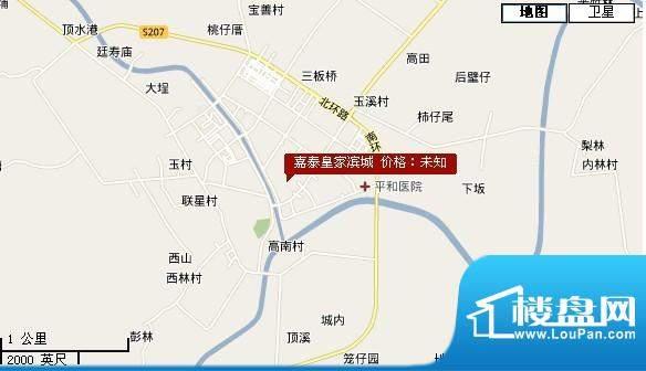 嘉泰皇家滨城交通图