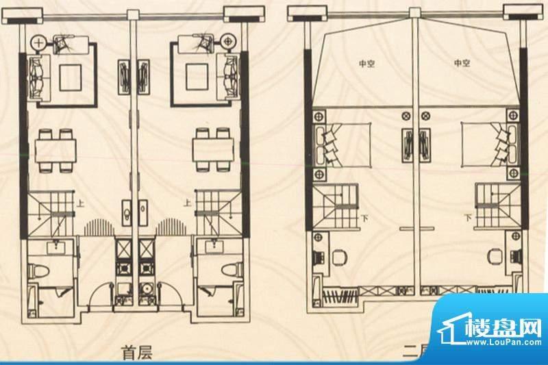 邦泰国际公寓五层10面积:107.00平米