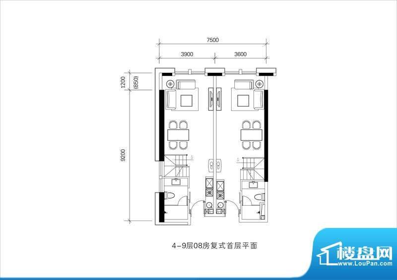 邦泰国际公寓4-9层0面积:0.00平米