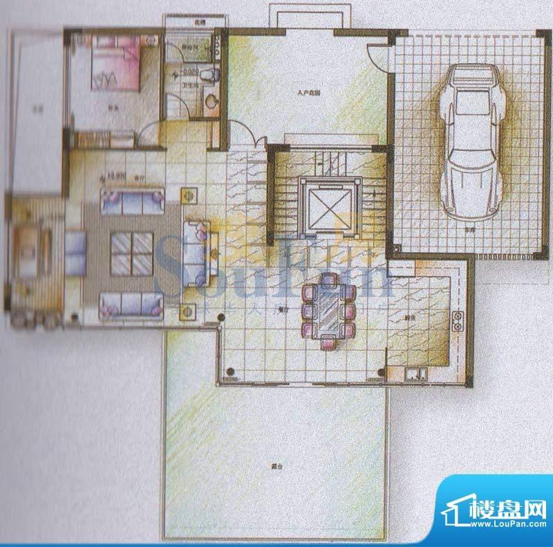 颐和高尔夫庄园巨邸面积:90.00平米
