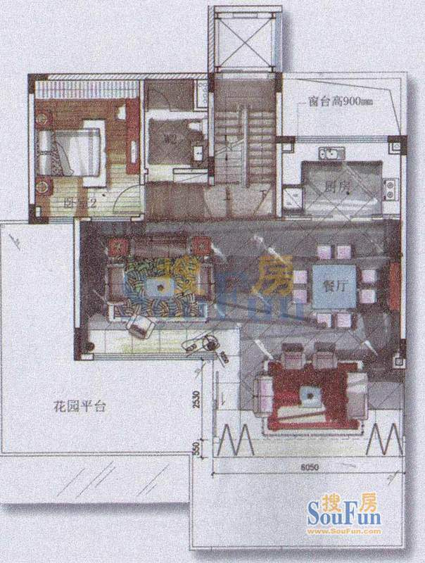 颐和高尔夫庄园巨邸面积:100.00平米