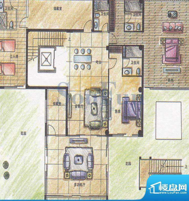 颐和高尔夫庄园玖院面积:150.00平米