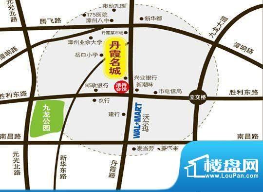 丹霞名城交通图