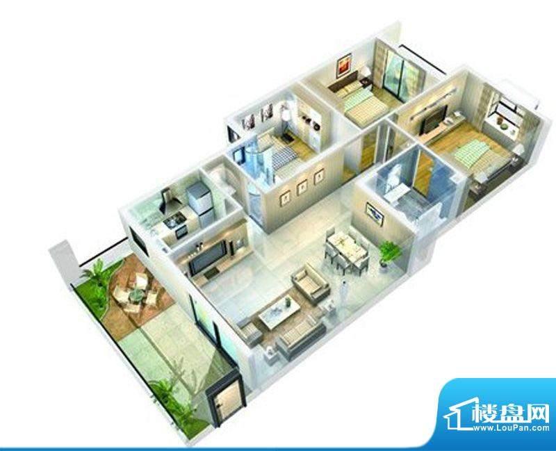 丹霞名城户型图面积:0.00m平米