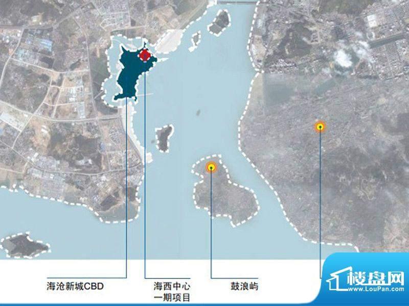 泰地海西中心交通图