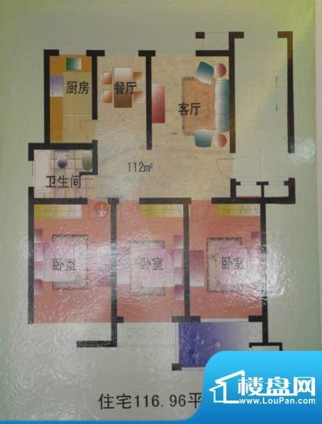 国诚华庭户型图 面积:0.00m平米