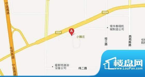 名流山庄交通图
