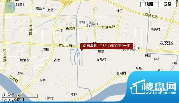 尚东琴畔交通图