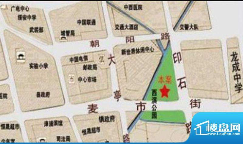 立欣东方新城交通图