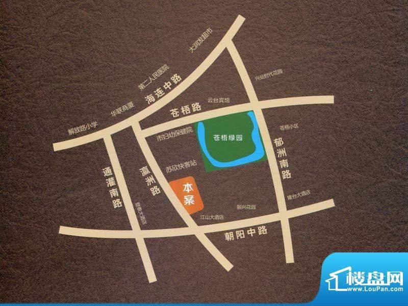 众兴·嘉城交通图