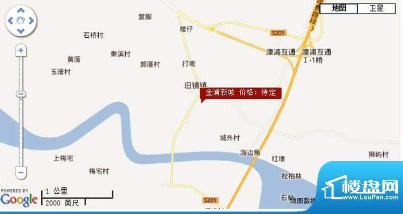 金浦新城交通图