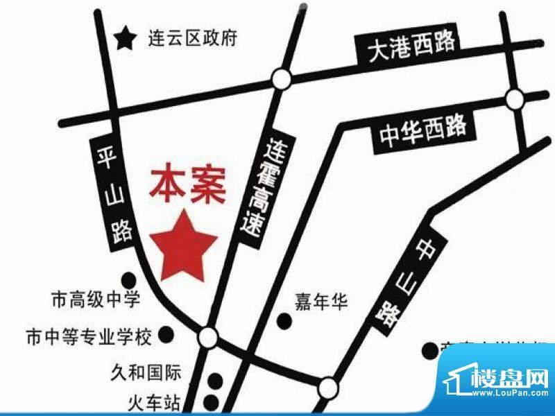易居公馆交通图