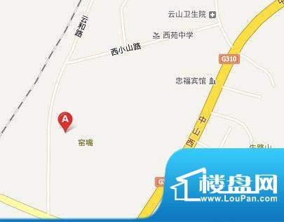 万润·华泰小区交通图