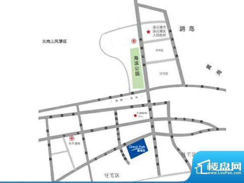 嘉瑞宝商业广场交通图