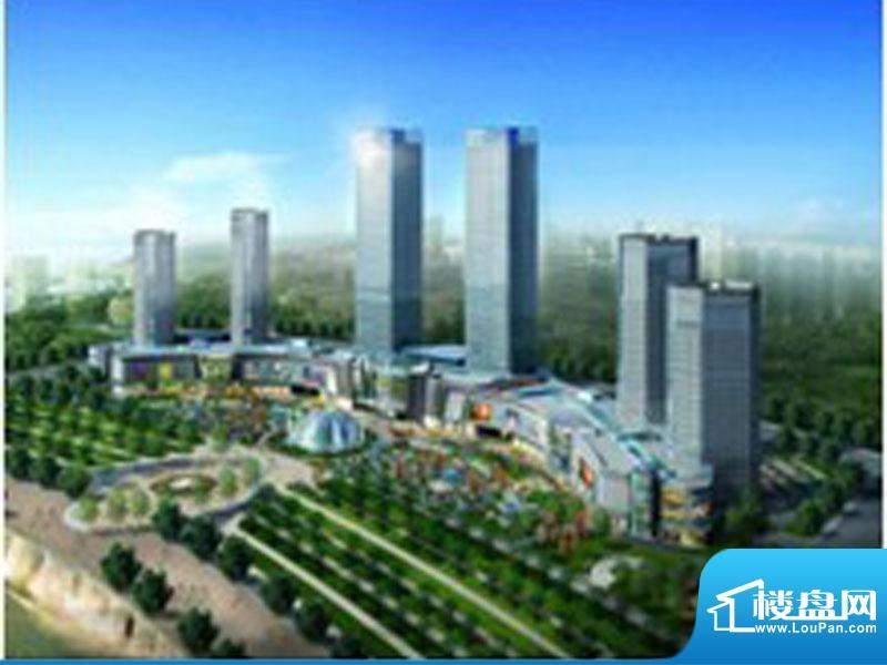 鄂尔多斯中心商务广场效果图