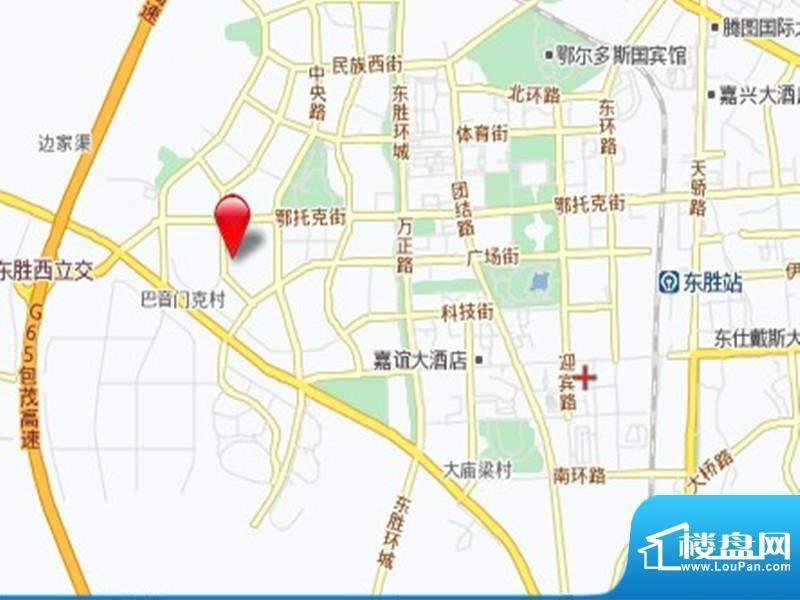 三江尊园交通图
