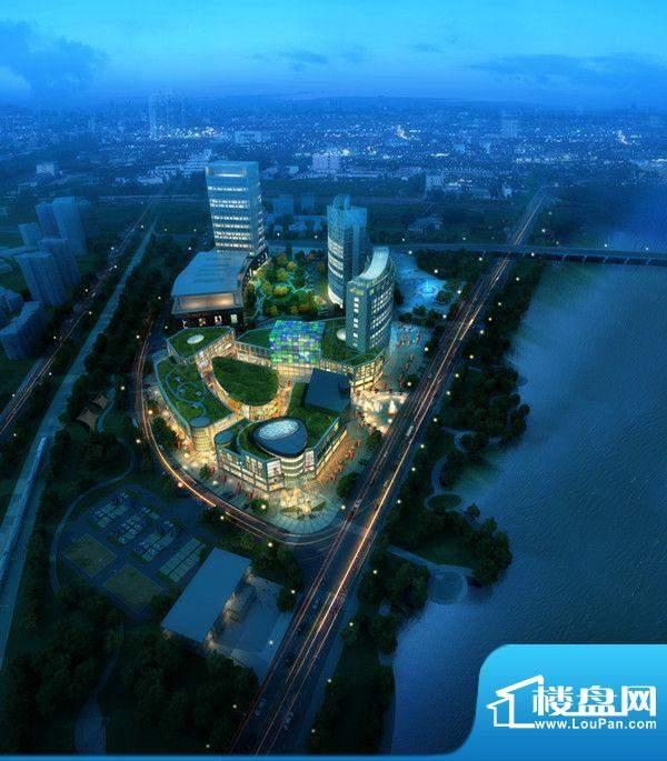 光亚广场3-1鸟瞰夜景