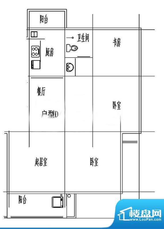 百露园一期2幢标准层面积:91.31平米