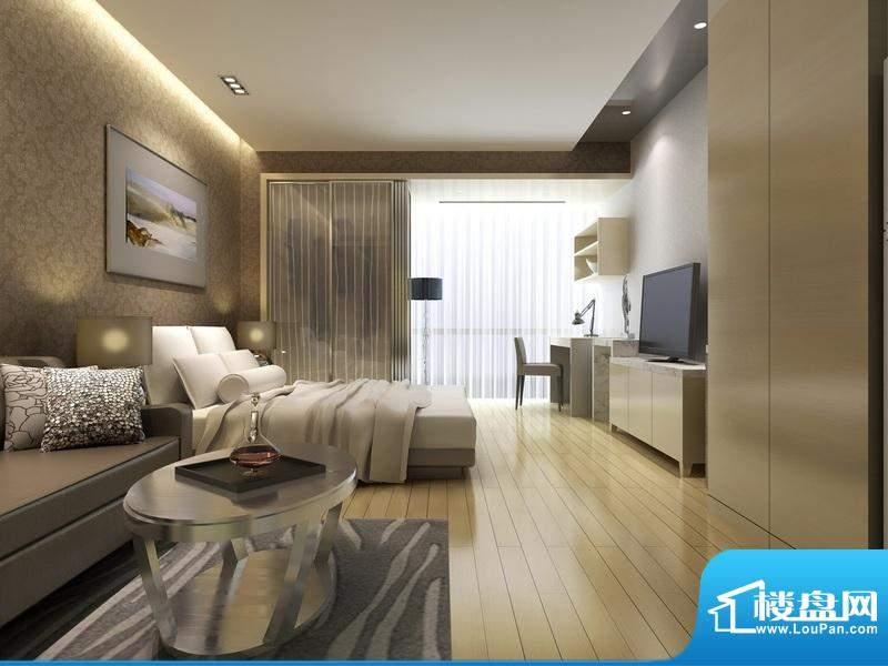 城市之光国际公寓精装效果图