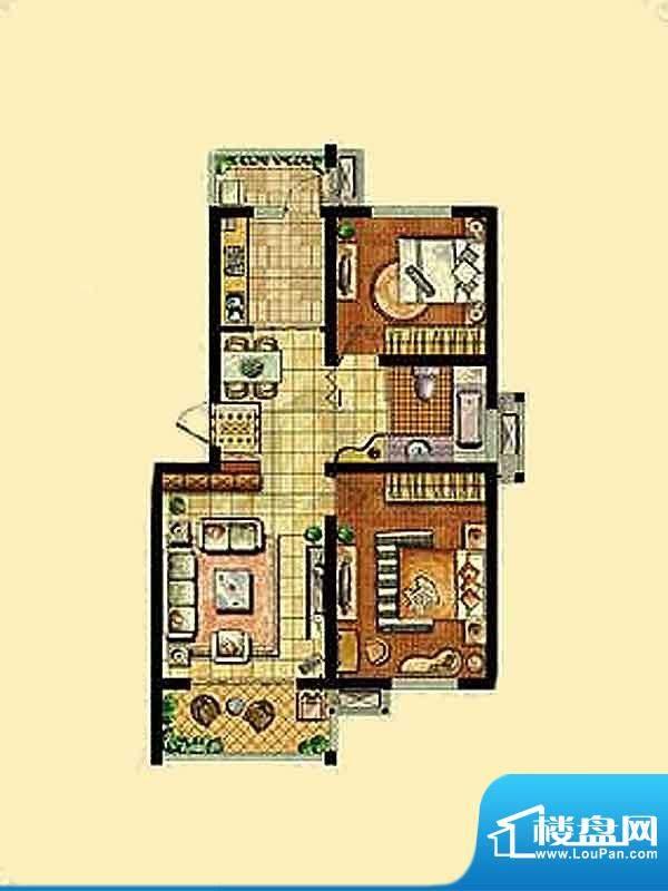 金东城世家一期32、面积:85.68平米