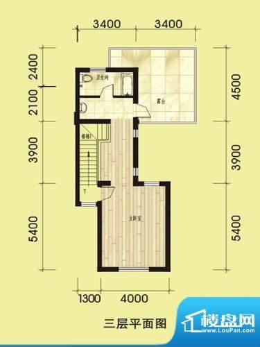 双湖明珠一期别墅30面积:337.25平米