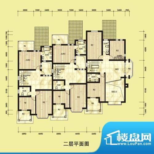 双湖明珠别墅53栋二面积:0.00平米