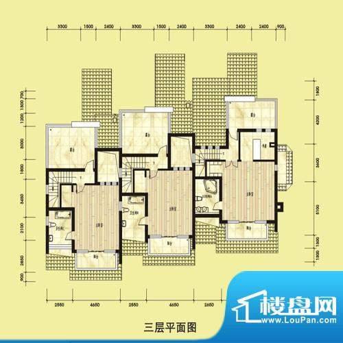 双湖明珠别墅53栋三面积:0.00平米