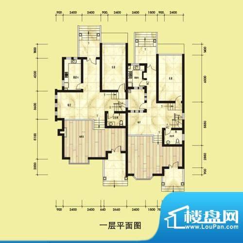 双湖明珠别墅52栋一面积:0.00平米