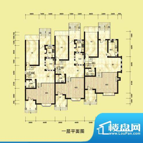 双湖明珠别墅53栋一面积:0.00平米