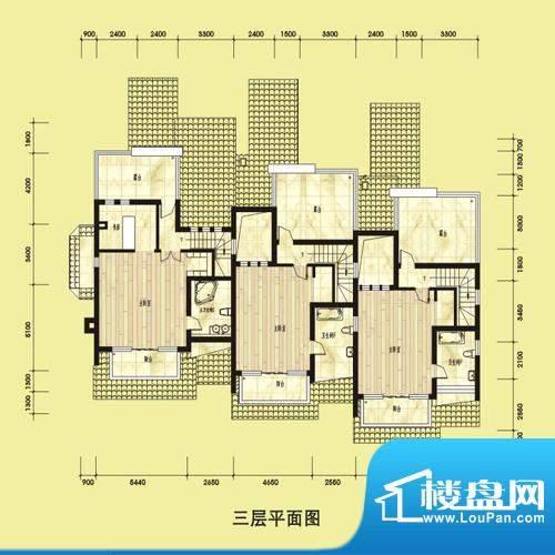 双湖明珠别墅55栋三面积:0.00平米