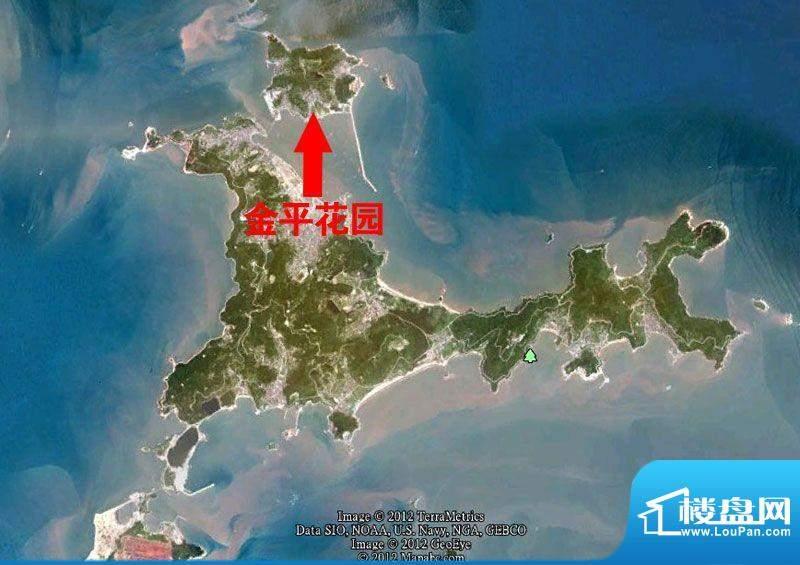 金平花园交通图