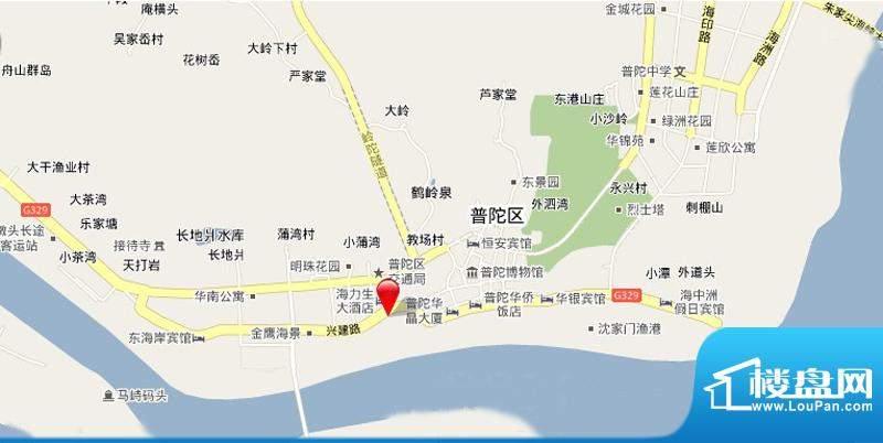 融信滨港花园交通图
