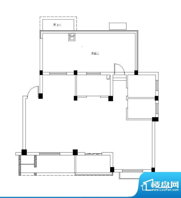 弘生世纪城北区10幢面积:97.00m平米