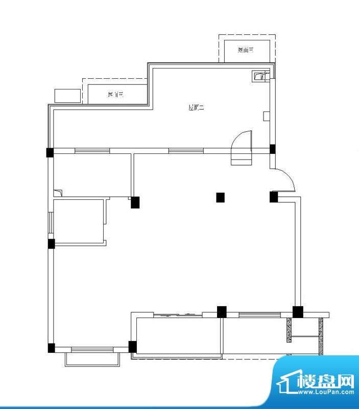 弘生世纪城北区10幢面积:91.50m平米
