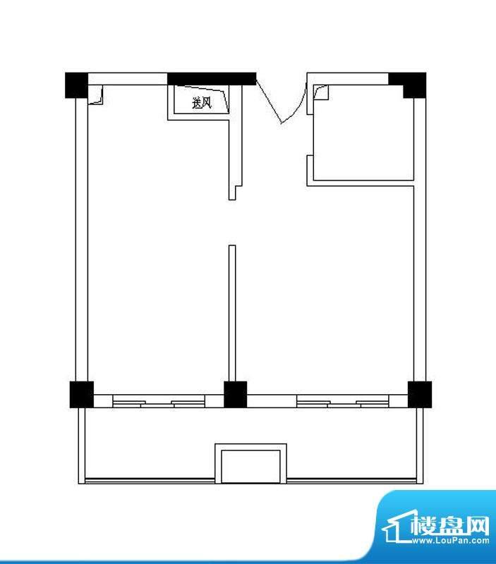 弘生世纪城北区11幢面积:53.86m平米