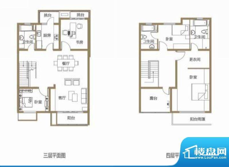 龙池翠洲三期别墅5、面积:173.38平米
