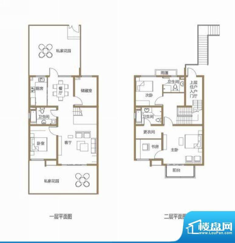 龙池翠洲三期别墅12面积:166.33平米