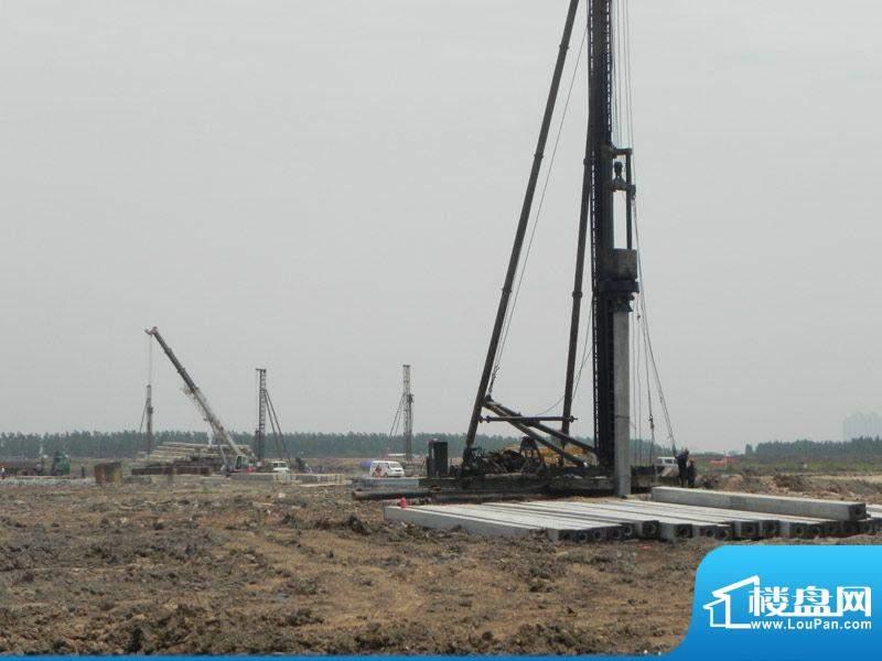 雅居乐滨江花园项目项目施工进度(2012
