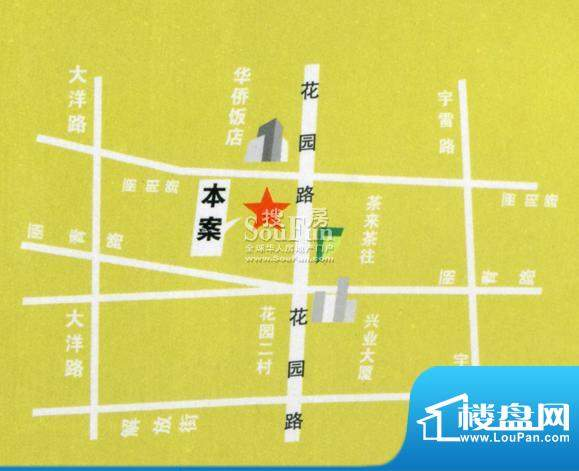 皇都春风佳苑交通图