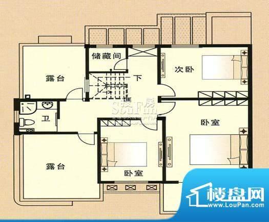 兴和苑户型图二面积:0.00平米