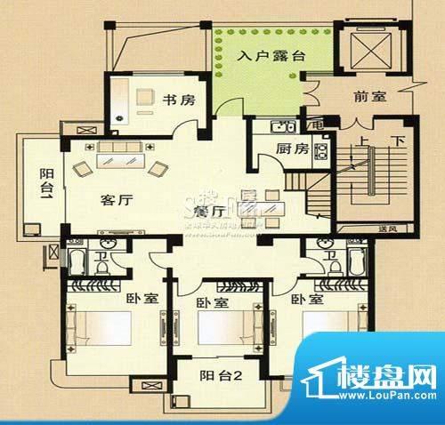 兴和苑户型图三面积:0.00平米