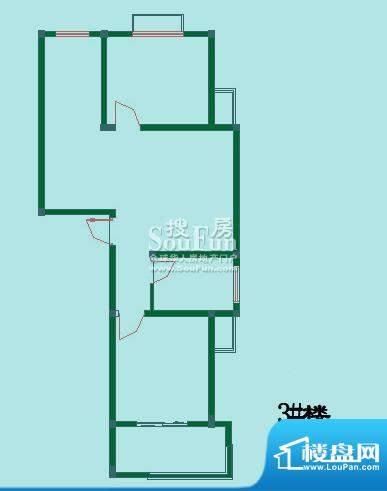 怡沁苑户型图十二面积:83.80平米