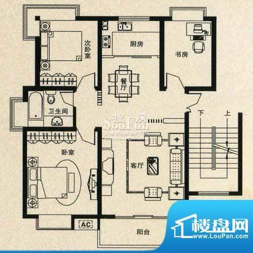 金丰花苑户型图三面积:0.00平米