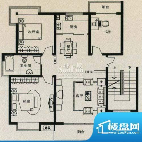 金丰花苑户型图四面积:0.00平米